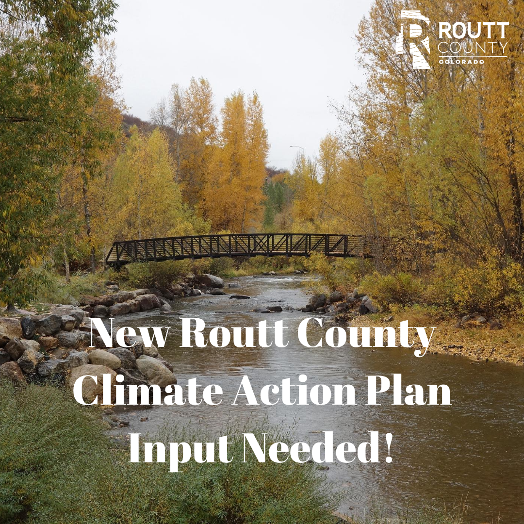 New Routt County Climate Action Plan Input Needed! Yampa River photo