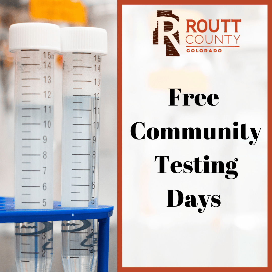 Free Community Testing Days image